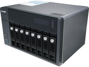 QNAP TVS-871-i5-8G-US Diskless System High-performance Turbo vNAS with 4K video playback and transcoding