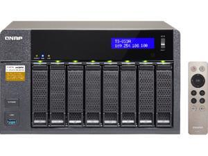 QNAP TS-853A-8G-US (8GB RAM version) 8-Bay Professional-grade NAS. Intel Braswell Quad-core 1.6 GHz CPU with Media Transcoding