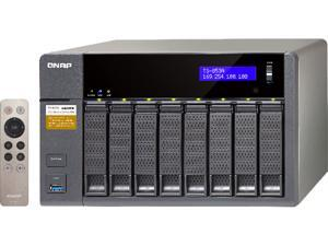 QNAP TS-853A-4G-US (4GB RAM version) 8-Bay Professional-grade NAS. Intel Braswell Quad-core 1.6 GHz CPU with Media Transcoding