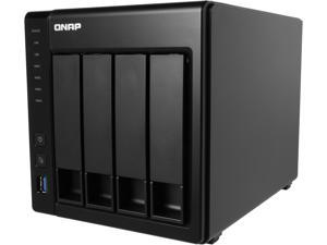 QNAP TS-451+-8G-44R-US 16TB (4 x 4TB) 4-Bay Personal Cloud NAS, Intel 2.0 GHz Quad-Core CPU with Media Transcoding