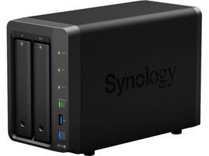 SYNOLOGY DS716+ NAS Server DiskStation Quad Core 2.08 GHz 2Bay 2G DDR3 (No HDD)
