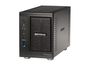 NETGEAR RNDP2230-100NAS ReadyNAS Pro 2 2-bay unified Network Storage for Business with 2 x 3TB HDD