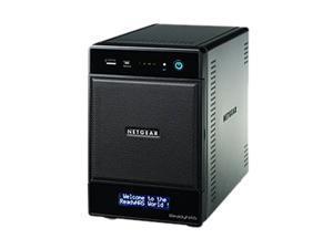 NETGEAR RNDP4420D-100NAS ReadyNAS Pro 4-bay (4x2TB desktop HD) w/ 3 yr warranty