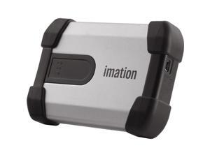 Imation 500GB Defender H100 External Hard Drive USB 2.0 Model 27840 Silver