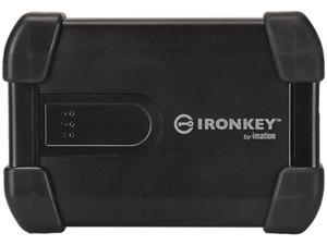 Imation 1TB USB 2.0 Ironkey H80 Hard Drive MXKA1E001T5001 Black
