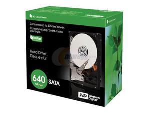 """WD Caviar GP WD6400CSRTL 640GB 7200 RPM 16MB Cache SATA 3.0Gb/s 3.5"""" Hard Drive"""