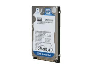 "Western Digital Scorpio Blue WD3200BEVE 320GB 5400 RPM 8MB Cache PATA 2.5"" Internal Notebook Hard Drive Bare Drive"