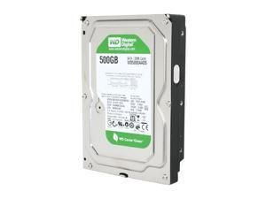 "Western Digital WD Green WD5000AADS 500GB 32MB Cache SATA 3.0Gb/s 3.5"" Hard Drive Bare Drive"