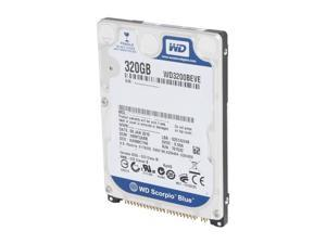 "WD Scorpio Blue WD3200BEVERTL 320GB 5400 RPM 8MB Cache IDE Ultra ATA100 / ATA-6 2.5"" Internal Notebook Hard Drive Retail"