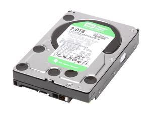 "Western Digital WD Green WD20EADS 2TB 32MB Cache SATA 3.0Gb/s 3.5"" Internal Hard Drive Bare Drive"