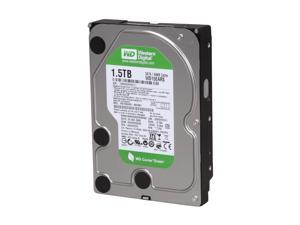 "Western Digital WD Green WD15EARS 1.5TB 7200 RPM 64MB Cache SATA 3.0Gb/s 3.5"" Internal Hard Drive Bare Drive"