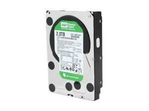 "Western Digital WD Green WD20EARS 2TB 64MB Cache SATA 3.0Gb/s 3.5"" Internal Hard Drive Bare Drive"