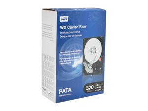 "WD Blue WDBAAV3200ENC-NRSN 320GB 7200 RPM 8MB Cache IDE Ultra ATA100 / ATA-6 3.5"" Internal Hard Drive"
