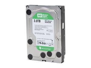 "Western Digital WD Green WD30EZRS 3TB 64MB Cache SATA 3.0Gb/s 3.5"" Internal Hard Drive"