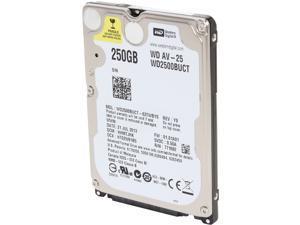 """Western Digital WD AV-25 WD2500BUCT 250GB 5400 RPM 16MB Cache SATA 3.0Gb/s 2.5"""" Internal Hard Drive Bare Drive"""