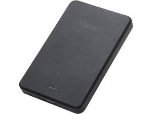 HGST 500GB Touro Mobile External Hard Drive USB 3.0 Model 0S03452 Black