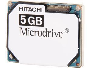 """Hitachi GST Microdrive 3K8 HMS361006M5CE00-5 5GB 3600 RPM 128KB Cache IDE Ultra ATA33 / ATA-4 1"""" Internal Hard Drive"""