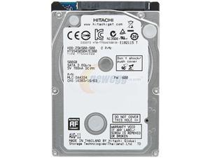 "Hitachi GST Travelstar Z5K500 HTS545050A7E380 500GB 5400 RPM 8MB Cache SATA 3.0Gb/s 2.5"" Internal Notebook Hard Drive Bare Drive"