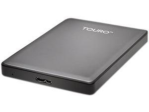 HGST 1TB Touro S Portable Hard Drive USB 3.0 Model HTOSEA10001BHB (0S03695) Grey