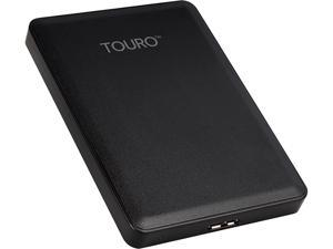 HGST 500GB Touro Mobile Portable Hard Drive USB 3.0 Model HTOLMU3EA5001ABB (0S03797) Black