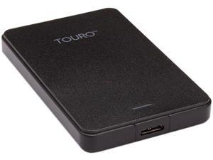 HGST 1TB Touro Mobile Portable Hard Drive USB 3.0 Model HTOLMU3EA5001ABB (0S03797) Black