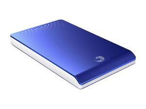 "Seagate FreeAgent Go 320GB 2.5"" Blue External Hard Drive"