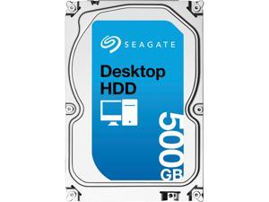 "Seagate Desktop HDD ST500DM002 500GB 16MB Cache SATA 6.0Gb/s 3.5"" Internal Hard Drive Bare Drive"