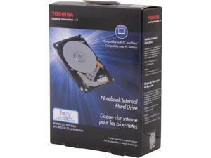 "TOSHIBA PH2100U-1I54 1TB 5400 RPM 8MB Cache SATA 3.0Gb/s 2.5"" Internal Notebook Hard Drive Retail Kit"