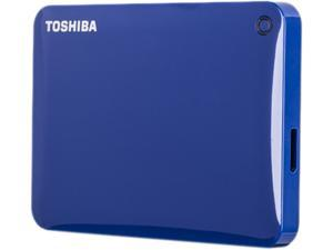 TOSHIBA 3TB Canvio Connect II Portable Hard Drive USB 3.0 Model HDTC830XL3C1 Blue