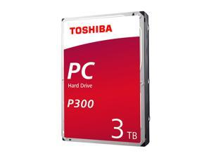 "TOSHIBA P300 3TB Desktop Hard Drive 7200 RPM 64MB Cache SATA 6.0Gb/s 3.5"" Internal Hard Drive Retail Packaging HDWD130XZSTA"