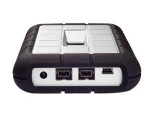 "LACIE Rugged SAFE 1TB 2.5"" USB 2.0 / Firewire800 Secure All–Terrain External Hard Drive Model 301490"