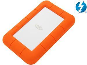 LaCie External Hard Drive Orange Model 9000294