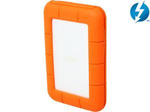 LaCie 2TB Rugged Thunderbolt Portable External Hard Drive USB 3.0 / Thunderbolt Model LAC9000489