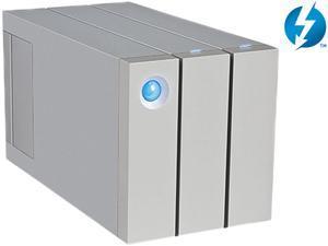 LaCie  2big  6TB  USB 3.0 / 2 x Thunderbolt  Professional Dual-Disk Hardware RAID External Hard Drive9000437U