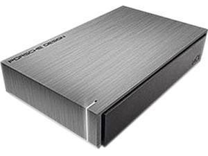 "LaCie Porsche Design P'9230 5TB USB 3.0 3.5"" Desktop External Hard Drive 9000480 Gray"
