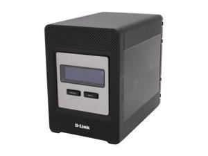 D-Link DNS-343 Diskless System 4-Bay Network Storage Enclosure
