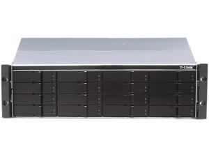 D-Link DSN-4100 Diskless System xStack Storage 4x1GbE iSCSI SAN Array, 16-Bay Rackmount