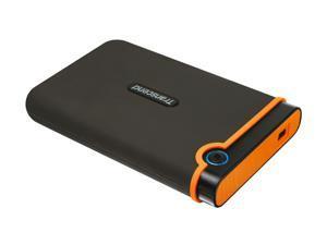 Transcend 750GB StoreJet External Hard Drive USB 2.0 Model 25M2 Black