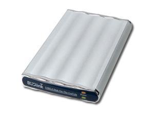 BUSlink 80GB Disk-On-The-Go External Slim Drive USB 2.0 Model DL-80-U2