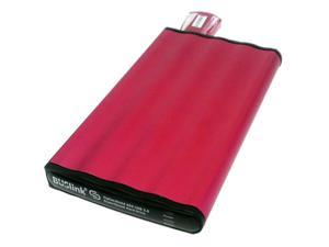 BUSlink CipherShield 1TB USB 3.0 AES 128-bit Key Encrypted External Hard Drive DSC-1T-U3 Red