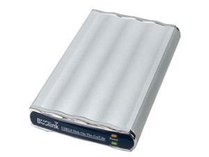 BUSlink 250GB Disk-On-The-Go External Slim Drive USB 2.0 Model DL-250-U2