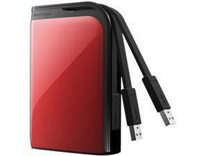 "BUFFALO MiniStation Extreme 1TB 2.5"" External Hard Drive Red"