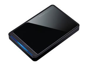 BUFFALO MiniStation Stealth 1TB USB 2.0 External Hard Drive Black Crystal