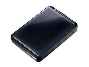 "BUFFALO MiniStation Plus 2TB USB 3.0 2.5"" Portable Hard Drive Black"