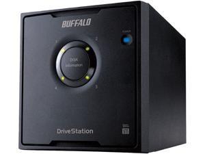 BUFFALO DriveStation Quad (HD-QL16TU3/R5) USB 3.0 RAID Hard Drive Array
