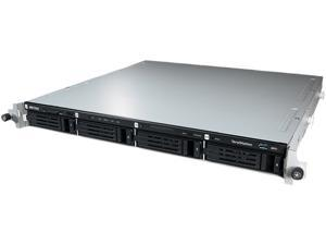 BUFFALO TeraStation 5400 4-Bay 16 TB (4 x 4 TB) RAID 1U Rack Mountable NAS & iSCSI Unified Storage - TS5400R1604