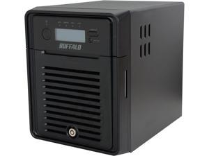 BUFFALO TeraStation 3400 4-Bay 8 TB (4 x 2 TB) RAID NAS & iSCSI Unified Storage - TS3400D0804