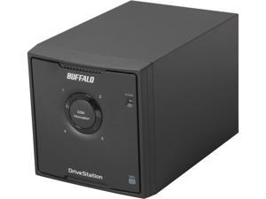 BUFFALO DriveStation Quad 8TB (4 x 2 TB) USB 3.0 High Performance RAID Array with Optimized Hard Drives HD-QH8TU3R5