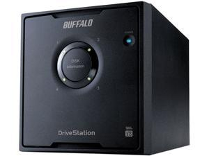 BUFFALO DriveStation Quad 12TB (4 x 3 TB) USB 3.0 High Performance RAID Array with Optimized Hard Drives HD-QH12TU3R5