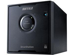 BUFFALO DriveStation Quad 16TB (4 x 4 TB) USB 3.0 High Performance RAID Array with Optimized Hard Drives HD-QH16TU3R5